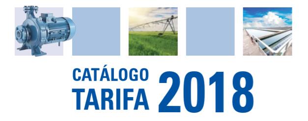 Catálogo Tarifa Veneto 2018