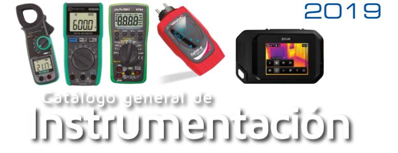 Catálogo Instrumentación 2019