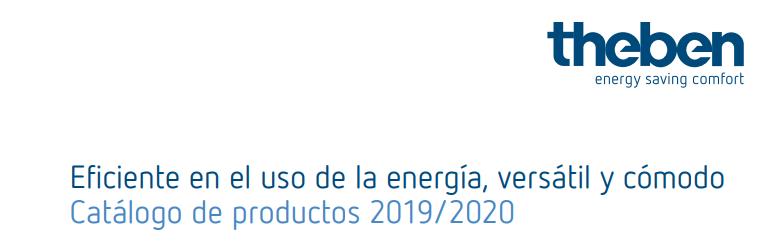 Nuevo catálogo Theben 2019/2020