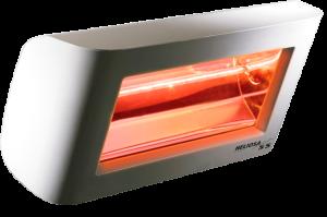 Calefactor halógeno infrarrojo y fibra de carbono
